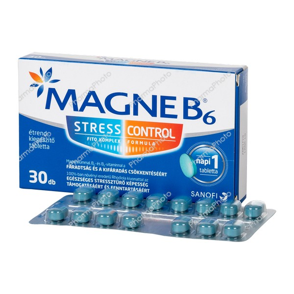 Magne B6 Stress Control tabletta 30x860818 2019 tn